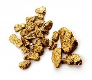 где в реке искать золото