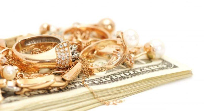 Цена за грамм при продаже золота в ломбарде